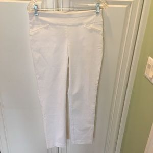 Perfect Stretch by Chicos  White Ankle Pant Sze 00
